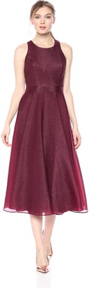 Nicole Miller Women's fit and Flare midi