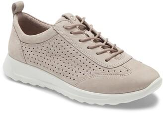 Ecco Flexure Runner Perforated Sneaker