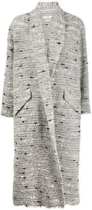 Etoile Isabel Marant Faby yarn coat