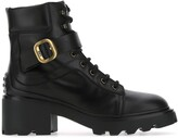 Thumbnail for your product : Tod's Buckled Ankle Boots