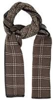 Etro Patchwork Wool Shawl