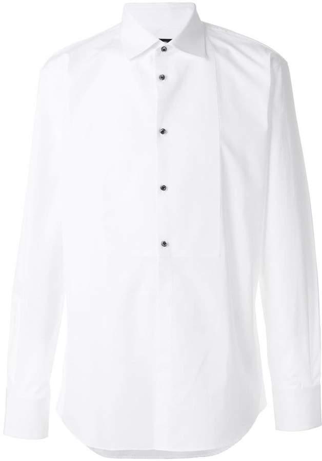 DSQUARED2 classic button bib shirt