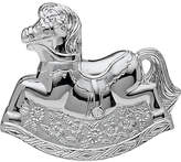 Little Star Silver Plated Rocking Horse Money Box