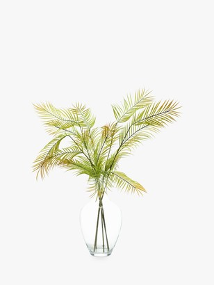 Peony Swimwear Artificial Scandi Ferns In Glass Vase