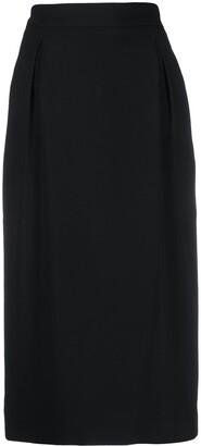 Versace High-Waisted Pencil Skirt