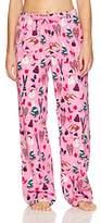Hatley Little Blue House by Women's Flannel Pants Pyjama Bottoms
