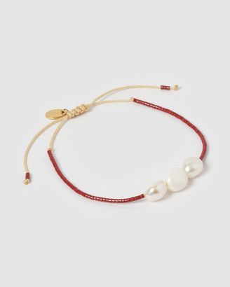 Arms Of Eve Serena Pearl & Glass Beaded Bracelet