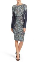 BCBGMAXAZRIA 'Violetta' Floral Knit Body-Con Dress