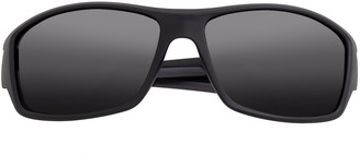 Breed Men's Polarized Wrap Sunglasses - Aquarius