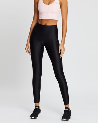 Running Bare Ab Waisted Power Moves Full Length Tights