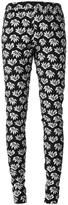 Jean Paul Gaultier flower appliqué trousers
