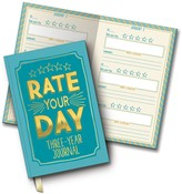 Studio Oh Rate Your Day Three-Year Journal