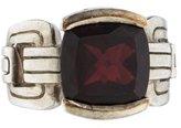 Robin Rotenier Garnet Cocktail Ring