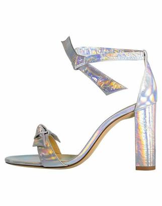 Alexandre Birman Holographic Clarita Block Heel