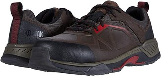 Kodiak LKT 1 Composite Toe Hiker (Brown/Red) Men's Shoes