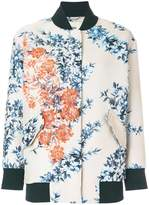 Fendi embroidered floral bomber jacket