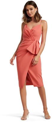 Forever New Alexis Wrap Midi Dress
