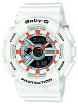 Casio Baby-G – Women's Analogue/Digital Watch with Resin Strap – BA-110PP-7A2ER