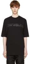 Cottweiler Black Holographic Logo T-shirt