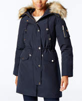 MICHAEL Michael Kors Faux-Fur-Trimmed Hooded Parka