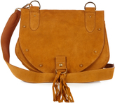 See by Chloe Collins leather and suede cross-body bag