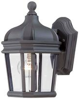 The Great outdoors by Minka Lavery Harrison 1-Light Black Outdoor Wall Mount Lantern