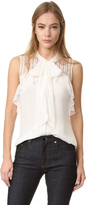 J. Mendel Sleeveless Blouse
