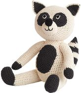 Anne Claire Hand-Crocheted Organic Cotton Raccoon