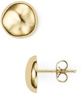 Argentovivo Round Stud Earrings
