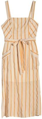 Hyfve Waist Tie Spaghetti Strap Stripe Dress
