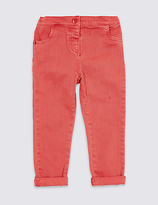 Marks and Spencer Cotton Jeans with Stretch (3 Months- 5 Years)