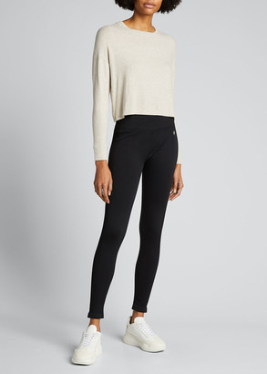 Beyond Yoga Brushed Up Cropped Long-Sleeve Pullover