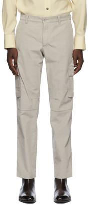 Brioni Taupe Corduroy Cargo Pants