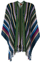 Missoni zigzag fringed cardigan - women - Cashmere - One Size