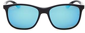Ray-Ban Men's Chromance Super Sporty Polarized Square Sunglasses, 58mm