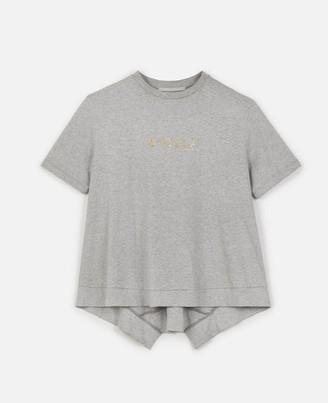 Stella McCartney gold logo t-shirt