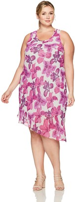 Rachel Roy Women's Plus Size Scoop Neck Dress