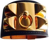 Hermes Collier de Chien Black Leather Jewellery