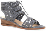Vince Camuto Retana Lace-Up Demi-Wedge Sandals