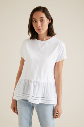 Seed Heritage Tiered Ladder Trim Tee