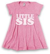 Urban Smalls Heather Pink 'Little Sis' Swing Tunic Dress - Toddler & Girls