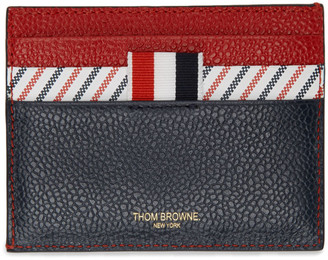 Thom Browne Tricolor Striped Card Holder
