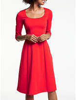 Boden Julianna Ponte Dress, Post Box Red