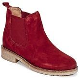 Bensimon BOOTS CREPE Red / Dark