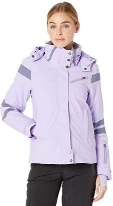 Spyder Poise GTX Jacket (Lagoon/White) Women's Coat