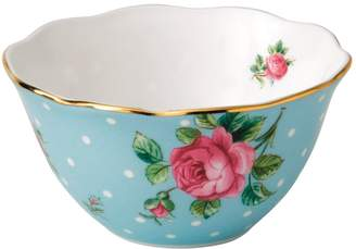 Royal Albert Polka Blue Ice Cream Bowl