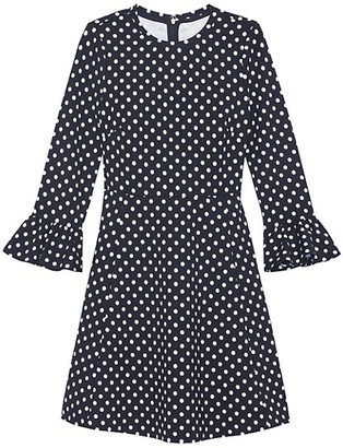 Kate Spade Lady Dot Ponte Dress