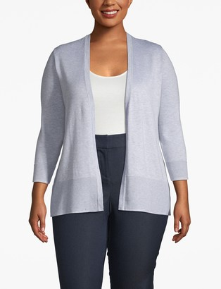 Lane Bryant Open Front Cardigan