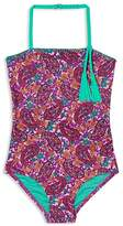 Hula Star Girls' Paisley Dream Swimsuit - Little Kid