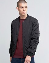 Selected Light Weight Bomber Jacket